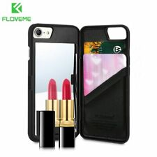 FLOVEME Mirror Case For iPhone 6 6s 7 Plus XS MAX XR Wallet+Card Slot Cover M...