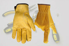 Cowhide Wear Safety Workers Welding Moto Hunting Hiking Gloves Security Protecti