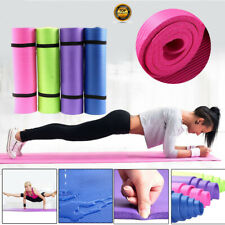 Yoga Mat Pilates Fitness Exercise Gym Workout Thick Non-Slip Pad 173*61*0.6 CM