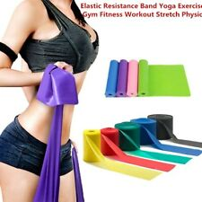 1PC Elastic Resistance Band Yoga Exercise Gym Fitness Workout Stretch Physio