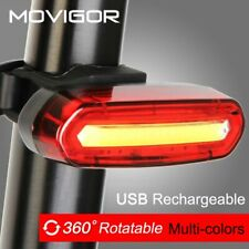 120Lumens USB Rechargeable Bicycle Rear Light Cycling LED Taillight Waterproo...