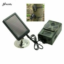 Skatolly Outdoor Solar Panel Charger US/EU Plug Hunting Trail Camera Charger ...