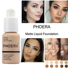 Foundation Concealer Makeup Full Coverage Matte Brighten Long Lasting Derma UK