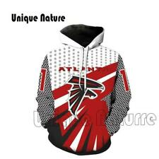 Unique Nature Mens Hoodies 3d Football Hooded Sweatshirts Harajuku Style Outwear