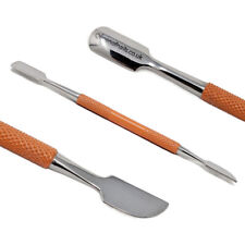 Double-ended Nail Cuticle Pusher Remover Tool Manicure Pedicure Stainless Steel