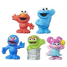 Sesame Street Playschool Cute and Collectable Figurines, Abby Elmo Grover Choose