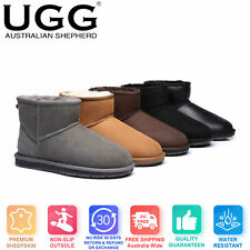 UGG Mini Classic Boots Australian Sheepskin Water Resistant Ankle Boots #15701