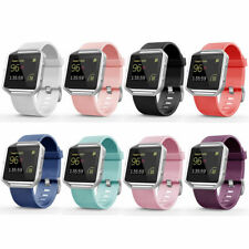 Replacement Silicone Rubber Band Strap Wristband Bracelet For Fitbit Blaze Gift