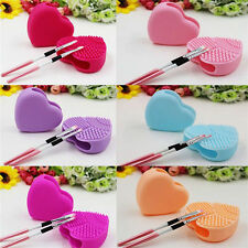 Silicone Beauty Egg Cleaning DIY Glove Makeup Washing Brush Scrubber Tools Tidy