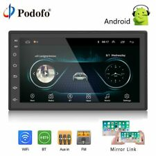 Din Car Radio Android Multimedia Player GPS Navigation HD Touch Screen Digital