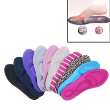 1 Pair 3D sponge soft insole sport high heel shoes relief insert pad insoles F X