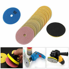 "2PCS Diamond Polishing Pads 3""/4"" Wet/Dry Granite Stone Concrete Marble Disc"