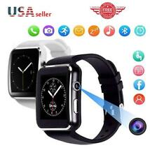 Waterproof Bluetooth Smart Watch Phone Mate For iphone IOS Android USA A-09