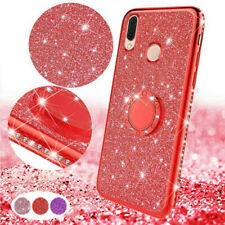 For Xiaomi Redmi 6A Note 6 Mi A2 Lite  Luxury Bling Ring Holder Stand Cover Case
