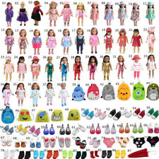 Doll Clothes Dress Shoes Socks For 18 Inch American Girl Doll Accessories Gifts
