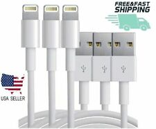 USB Data Charging Charger Cables Cords For iPhone 5 6 7 8 X XS Plus Max