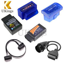 ELM327 OBD2 Car Diagnostic Bluetooth Wireless Scanner + 3 16 22 38 Pin Cable