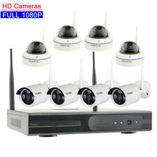 Vcamdo Home Wireless Security Camera System 1080p 8ch Hard Drive wifi CCTV NVR