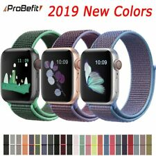 Band For Apple Watch Series 3/2/1 38MM 42MM Nylon Soft Breathable Replacement