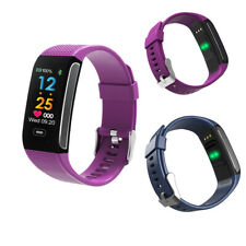 Activity Sleep Tracker Heart Rate Fitness Pedometer Bracelet Smart Watch 3 Color