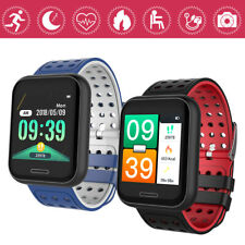 Waterproof Smart Watch Heart Rate Monitor Bracelet Wristband for iOS Android CHG