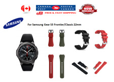 Samsung Gear S3 Frontier/Classic 22mm Silicone Bracelet Strap Watch Band