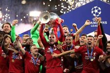 Liverpool Champions League European Cup Winners 2019 Photograph Print