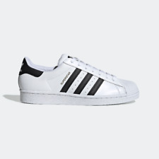 ADIDAS SCARPE SUPERSTAR C77124_Superstar BIANCHE UNISEX PELLE NUOVE SNEAKERS