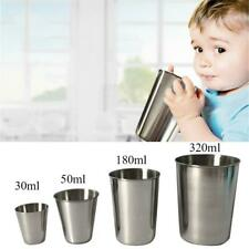 Stainless Steel Mini Cup Mug Drinking Coffee Beer Tumbler Camping Travel