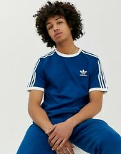 Adidas Originals Mens California Trefoil T-Shirts 3 Stripes Classic Sports New