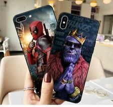 Marvel Iron Man Spiderman Comics Heroes Cover Case for iPhone Xs Max 6s Plus 8 7