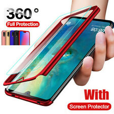 360° Protect Hard Case+Tempered Glass For Xiaomi Mi 9 SE Max 2 Redmi Note 7 Pro