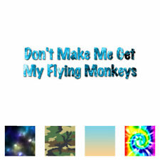 PINBACK BUTTON 2 1//4 INCH DON/'T MAKE ME RELEASE MY FLYING MONKEYS