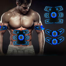 Ems Muscle Training Abs Fit Gear Rechargeable Body Exercise Ems Abdominal Full