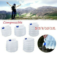 Portable Folding Collapsible Water Bag Bucket Outdoor Picnic Carrier Camping