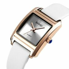 SKMEI Women's Watch Rectangle Waterproof Dress Casual Quartz Leather Watches
