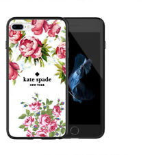 New Hot Kate Spade Pink Rose Floral For iPhone X/XR/XS/XS Max and Samsung Case