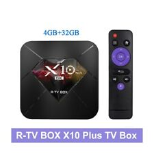 R-TV BOX X10 Plus TV Box Allwinner H6 WiFi 6K Android 9.0 4GB+32GB Media Player