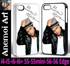 k7 Bruno Mars Signed Autograph Picture Phone Cover Case i4 i5 i6 + S5 S6 Edge