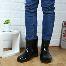 Mens X1013 Black /& Pebble Design Rubber Wellies