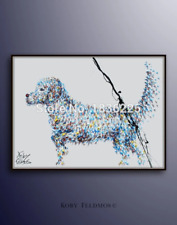 Dog Oil painting On Canvas Wall Pictures Paintings For Living Room Wall Art Dog