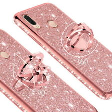 360° Ring Bling Stand Soft Case Cover For Xiaomi Redmi 6A Note 5 6 Mi 8 A2 Lite