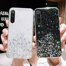 For Xiaomi Redmi Note 8 Pro Mi A3 Lite 9 Bling Shockproof Soft Phone Case Cover