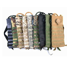 3L Water Bladder Bag Military Hiking Camping Hydration Camelbak Pack TB camo