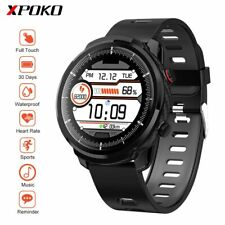 Carbon Sport Smart Watch Heart Rate Monitor IP68 Waterproof Full Touch Screen