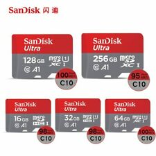 SanDisk Ultra New 16GB 32GB 64GB micro SD HC Flash Memory Card 98MB Class10 A1