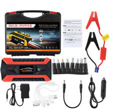 89800mAh Car Jump Starter Pack Booster LCD 4 USB Charger Car Battery Charger