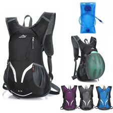 Hydration Pack Sports Backpack Tactical Cycling Hiking Camping Water Bladder Bag