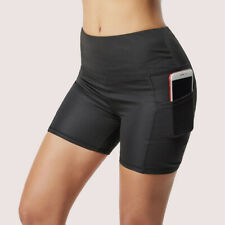 Womens Compression Gym Fitness Workout Yoga Shorts Casual Cycling Dance Short
