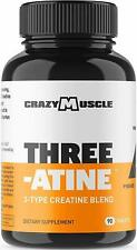 Creatine Monohydrate Pills - Keto Friendly Muscle Builder - 1,667 mg Tablets (13